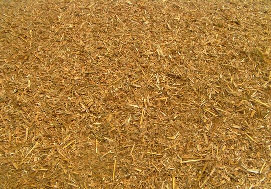 玉米秸秆粉碎后效果