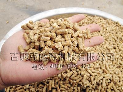 使用玉米秸秆饲料颗粒机做出的家禽颗粒饲料品质效果