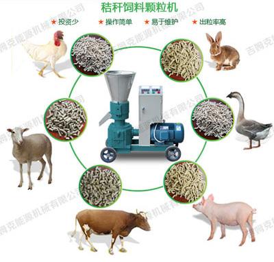 玉米秸秆颗粒机是养殖户创业致富好帮手
